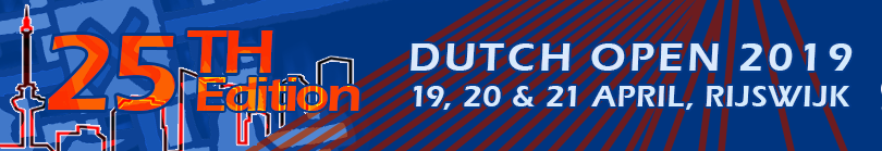 Dutch Open | 6 - 7 april 2013